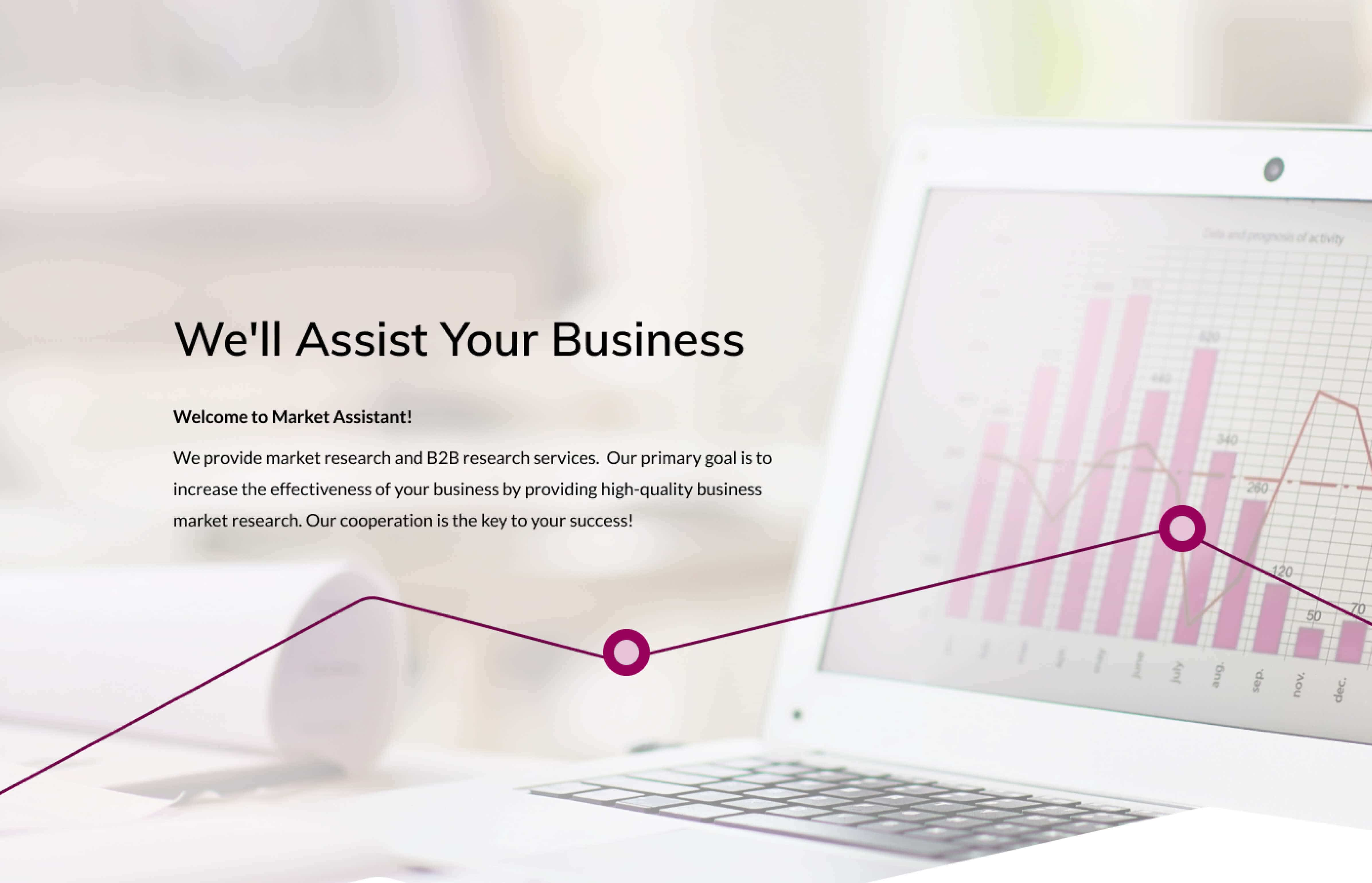 Market Assistant website