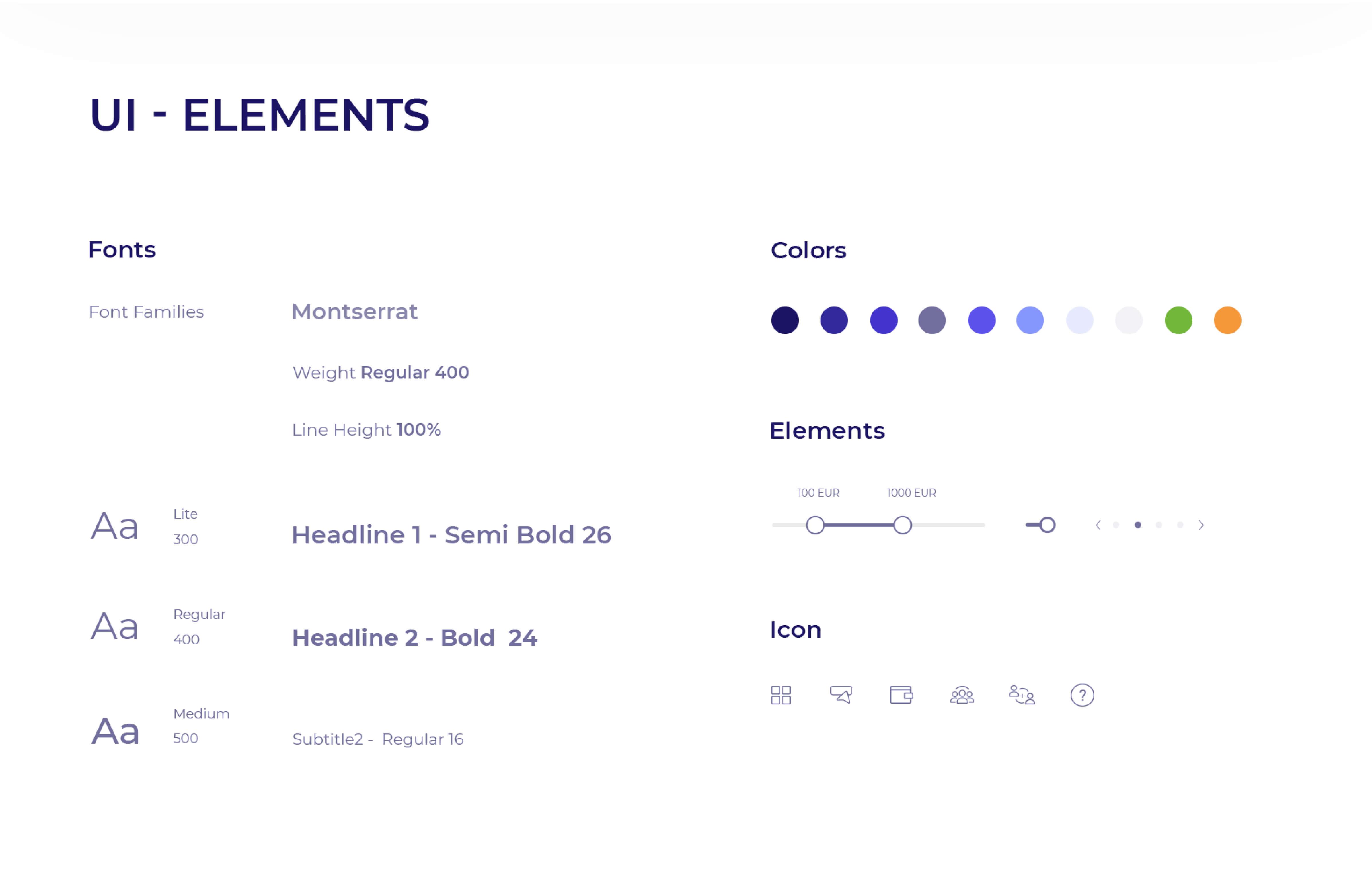 UMS UI-Elements
